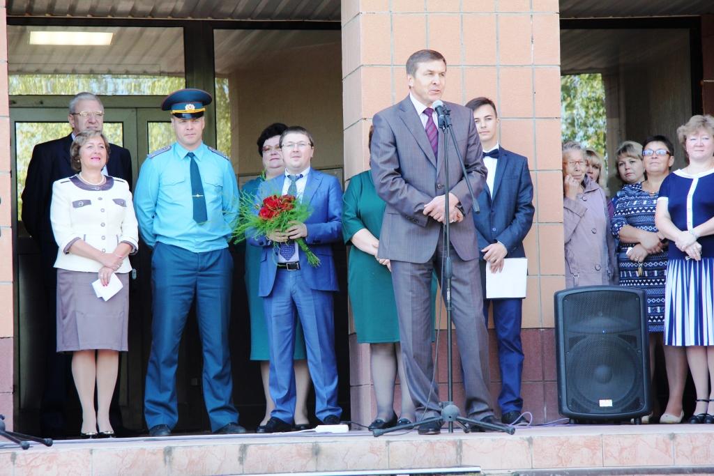 Поздравления с 1 сентября главы администрации района