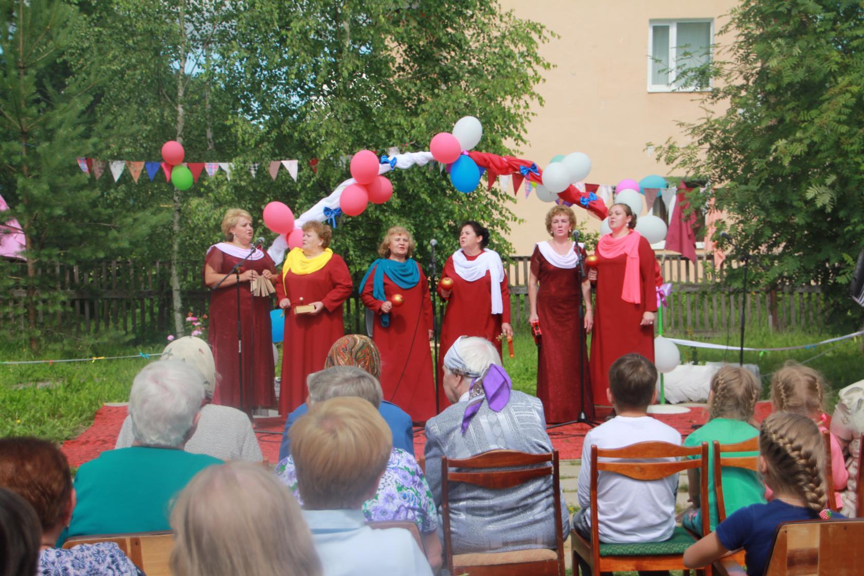 Поздравление селян с днем села